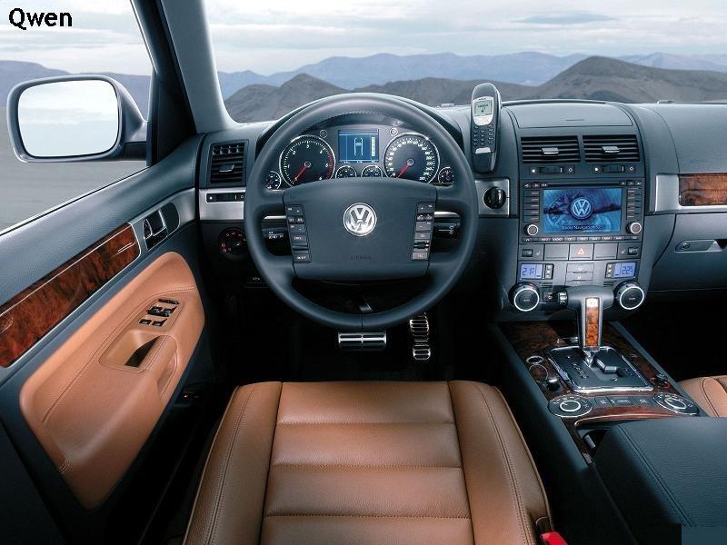 Volkswagen Touareg цена.