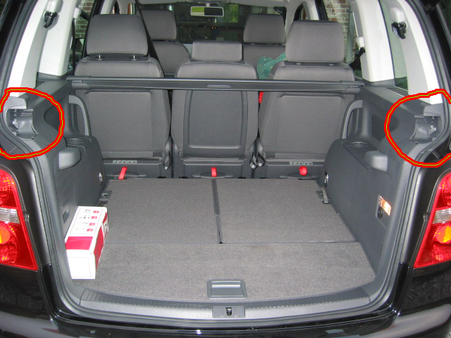 Pin cheap volkswagen touran videos on pinterest for Touran interieur 7 places