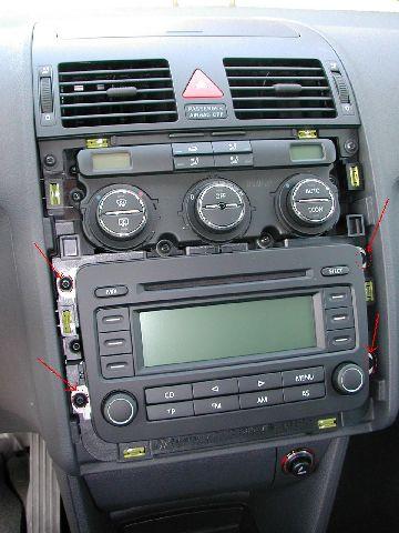 Guide Montage Changement De L Autoradio Rcd300